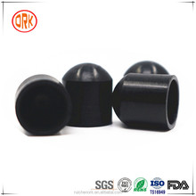 Black Soft Water Resistance Silicone Rubber End Caps