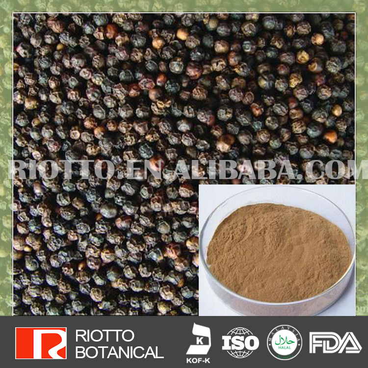 Ture Manufacturer Anti inflammation black pepper extract piperine
