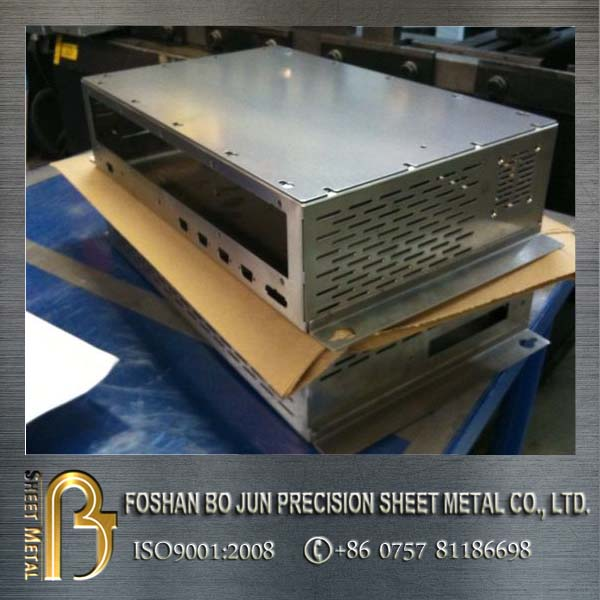 Custom stainless steel fabrication sheet metal case made in china