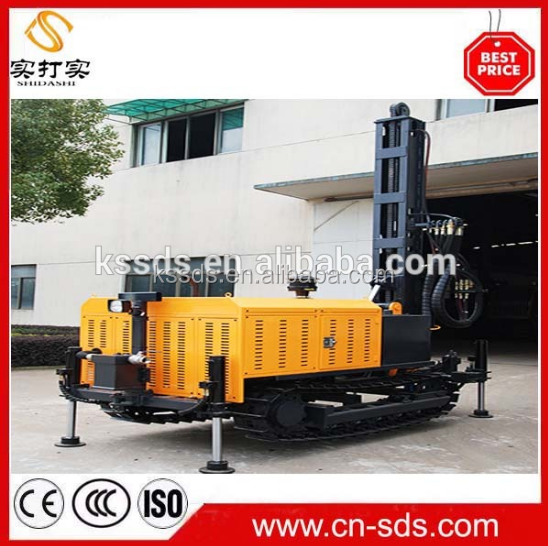 geotechnical drilling rig with SPT hammer