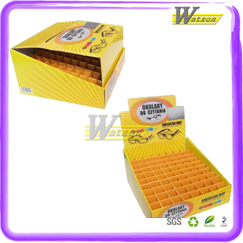 Color Box Cardboard Display Boxes For Retail Store Gifts Promotion