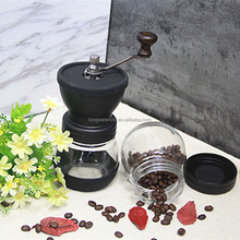 For Sale Making Coffee Powder Manual Glass Grinding Coffee Grinder