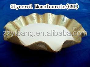Emulsifier and good preservative Distilled Glycerol Monolaurate(GML-90) For Food Preservative