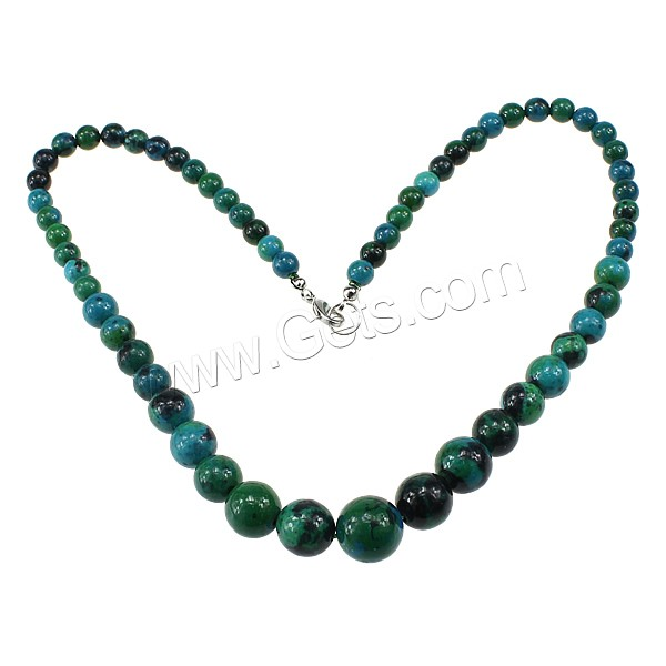 Chrysocolla Round Arnet Necklaces Desins 495519