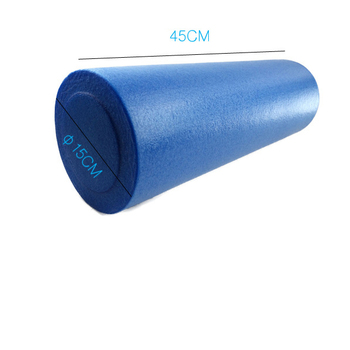 high density Eco friendly fitness PE Yoga foam wheels for muscle massage
