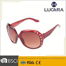 2014 new arrival fashion sunglasses crystal stickers sunglasses
