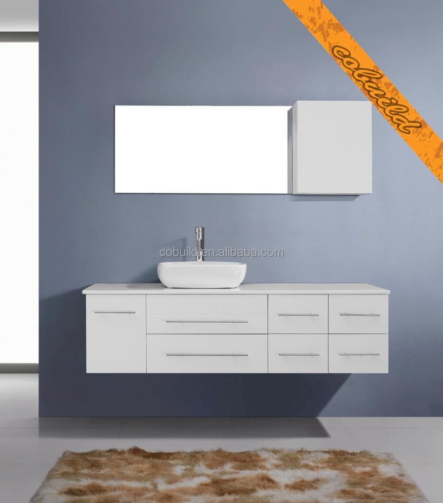 Modern Wall Hung Bathroom Cabinet With Mirror,Wall Mounted Bathroom ...