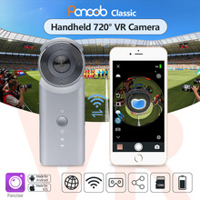Panoob Classic Handheld Dual lens WiFi Panoramic VR 360 Degree Camera Mini Sports Action Camera