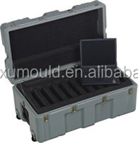 OEM rotomoulding case shell by rotational mould