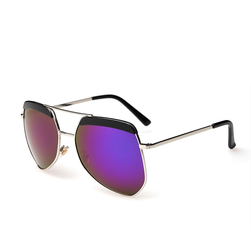 Latest Fashion Style Woman Man Sunglasses Grey Ant Metal