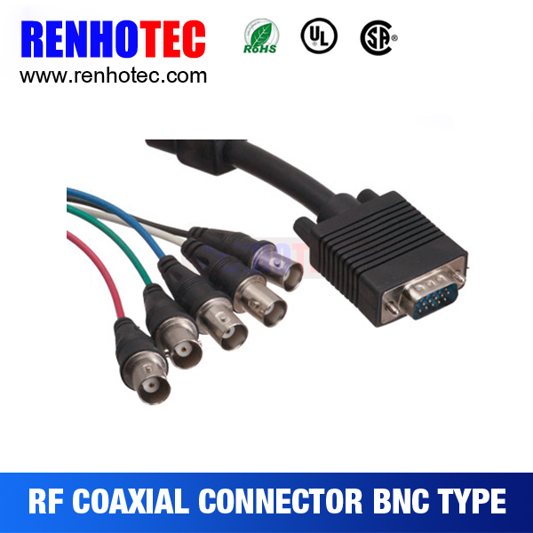 High Quality and best Price DB25 to BNC cable connector
