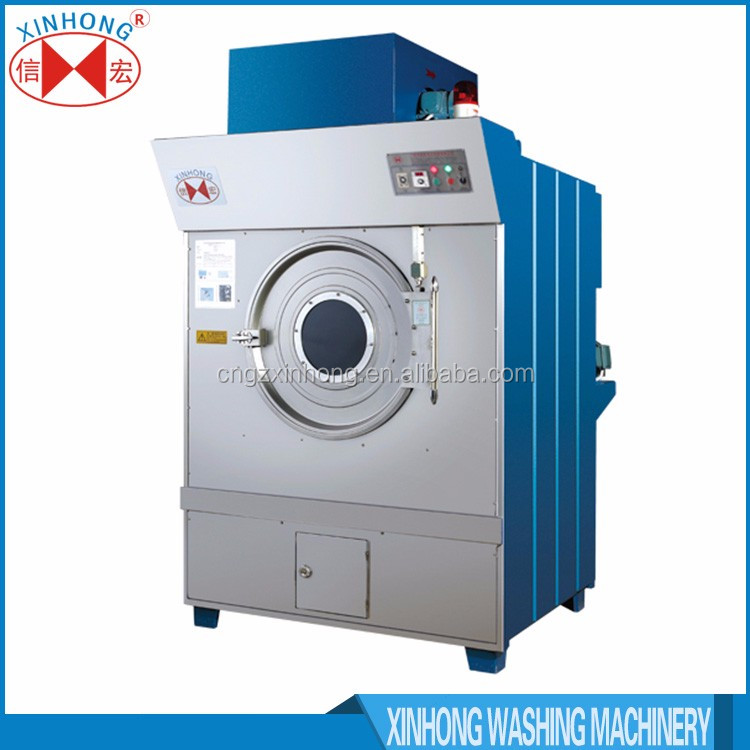 High performance commercial laundry equipment stacked dryer
