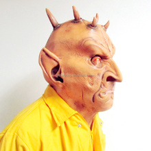New mask factory can be customized plastic mask horn devil mask of terror