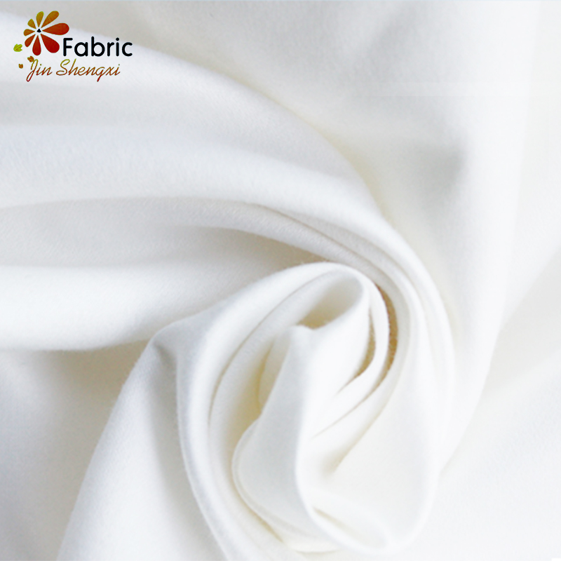 Cheap Plain Quilting White 100% Recycled Microfiber Polyester Fabric