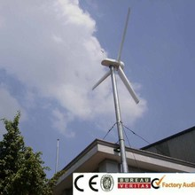 China 5000w horizontal/vertical axis wind generator