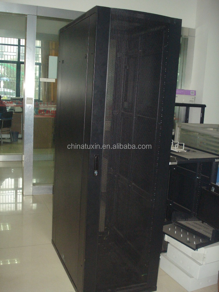 "Traditional type telecom equipment rack 19 inch open cabinet with 19"" PDU server rack"