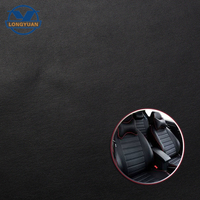High quality microfiber pvc car leather