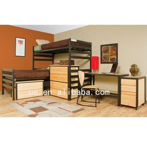 Apartment furniture fancy dormitory bunk bed