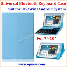 Tablet PC Universal bt keyboard leather case Compatible with Android Win IOS system bt 3.0