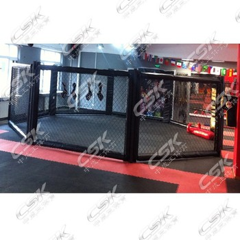 Gym Club MMA Cage