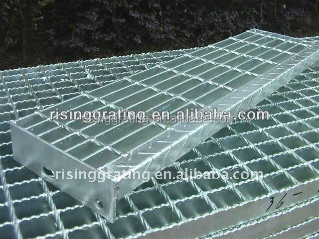 zinc coating and painting mild steel gratings outdoor stair tread