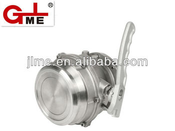 Stainless steel API loading&unloading adaptor valve