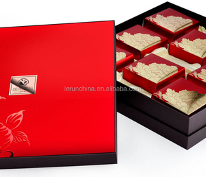 Red Love Jewelry Gift Boxes Made Of Velvet