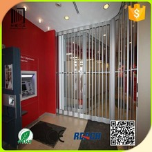 cheap and high quality interior plastic folding doors/transparent folding/accordion door price