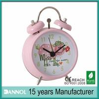 funny mini quartz alarm clock / special alarm clocks / alarm clock for travel