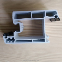 pvc window frame profile, pvc extrusion door profile, sliding and casement series plastic building raw materials to india