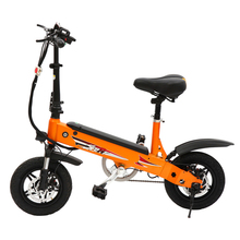 2017 portable 350W folding electric bike 36V electric bicycle for adults