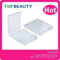 TS1810-2 clear plastic makeup compact case