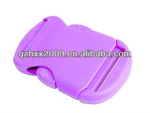 Small seat belt buckle pink plastic buckles for backpacks