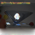 NEW For SmartPhone DIY Holographic 3D Display Projector 4D dimensional projection box