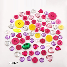Factory price colorful 4 holes plastic buttons for kid fancy plastic shirt buttons for children clothing