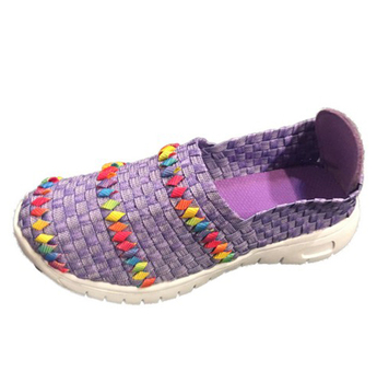 Kids Woven Air-Glitzy Fitz Sneaker (Little Kid/Big Kid)