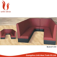 Cheap Price Wholesale Restaurant Pew Dining Sofa Booths