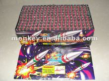 50 shots ground mouse missiles firework