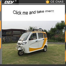 Big Discount 3 Wheel Electric Taxi / Closed Cabin Passenger Tricycle