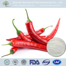 High purity Capsicum frutescens L, CAS No. 404-86-4, Capsaicin 98%
