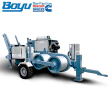 280KN overhead transmission hydraulic 28T puller equipment