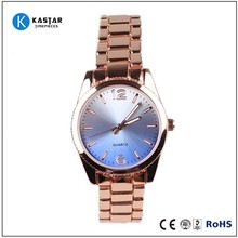 fashion vogue ladies quartz watch stainless steel case