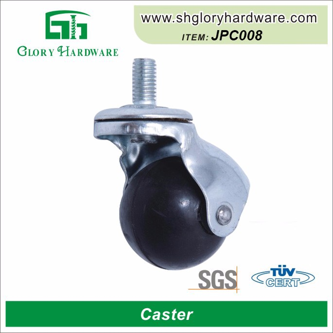 PP/rubber ball caster, sofa swivel roller ball caster