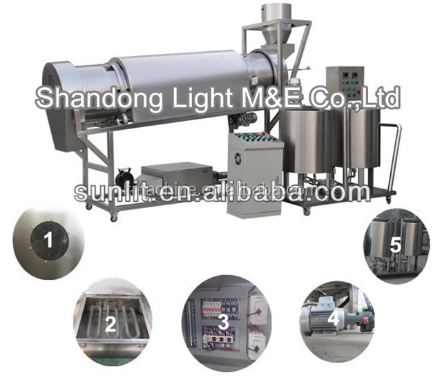 Automatic Breakfast Cereal Corn Flakes Sugar Coating Machine