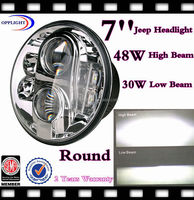 "Factory price eagl eyes headlight 7"" led motor headlight motorcycle round headlight"
