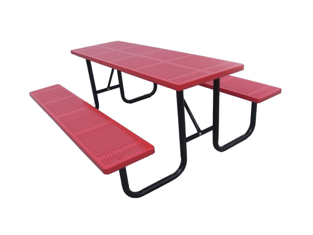 Wholesale Outdoor Park Metal Aluminium Picnic Table Chair