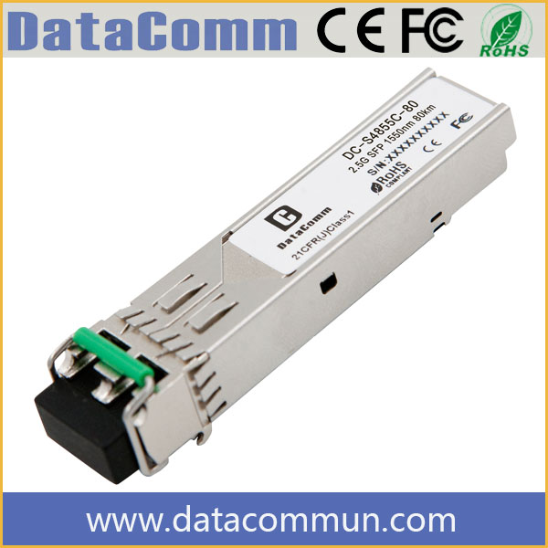 Cisco Switch 4 Port SFP 2.5G SFP 1550nm 80km