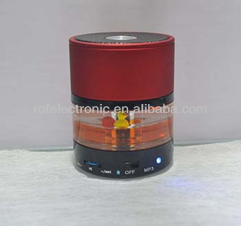New fashion patent design liquid mini bluetooth speaker with Hand-free calling multi-function