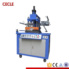 hydraulic semi auto new design leather logo embossed hot stamping machine