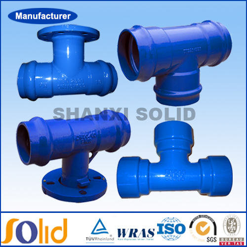 EN545 Ductile iron pipe fittings for African and South American market